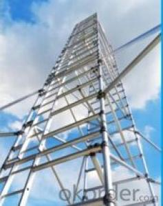 aluminum construction tower mobile scaffolding