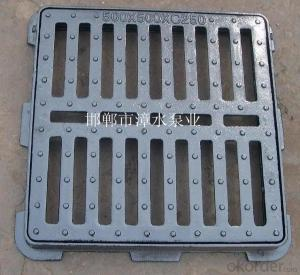 Cast iron casing perforated strainer