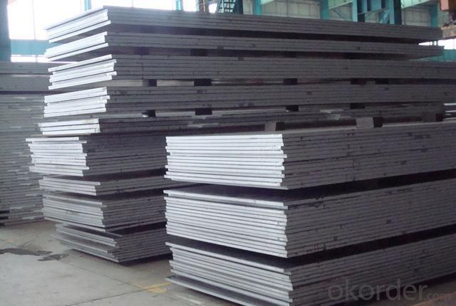 Hot Rolled Checkered Steel Plate of High Quality
