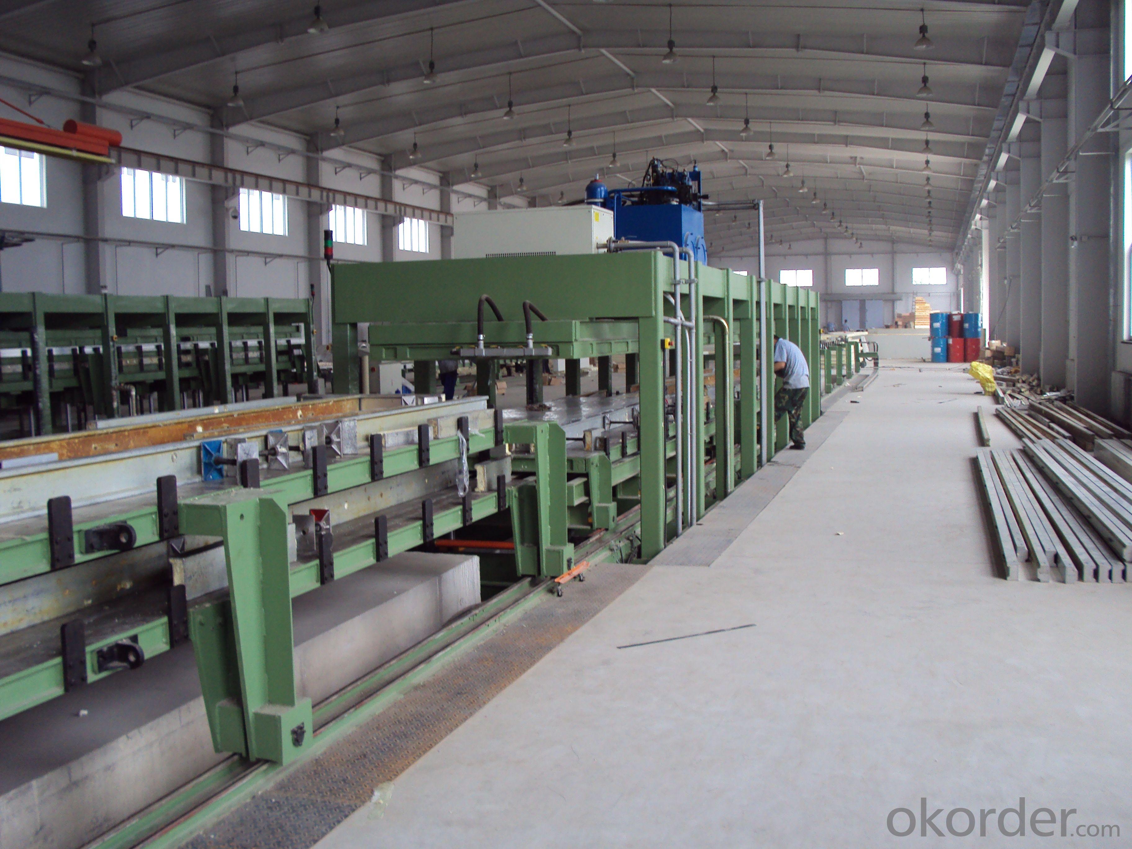 FRP & PU Sandwich Panel Lamination Line, Working Machine