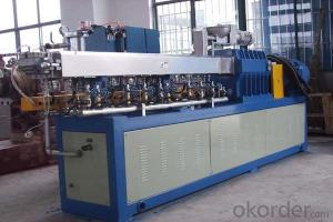 single screw plastic extruder for PE PP film granulating line