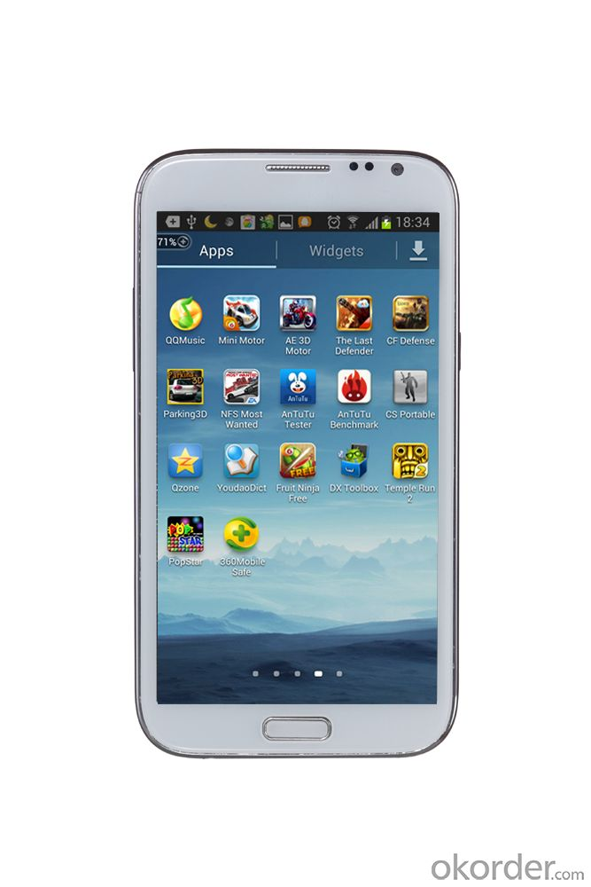 Android Cell Phone/WCDMA 3G Quad core Smart Phone