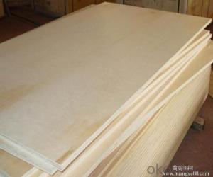 Poplar Wood Veneer Face  Plywood Thick Board