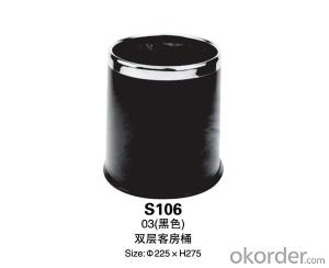 S106 double trash ( brown / black / sand steel)