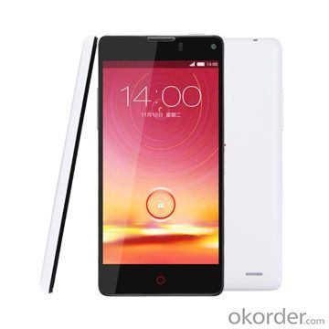 Cell Phone 16GB White 4.7-Inch 3G Android 4.2 Smart Mobile Phone