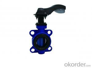 DUCTILE IRON BUTTERFLY VALVE DN500  High Quality