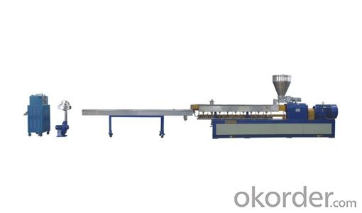 Strand granulation line/water-cooling pulls strip granulation line/pellets machine