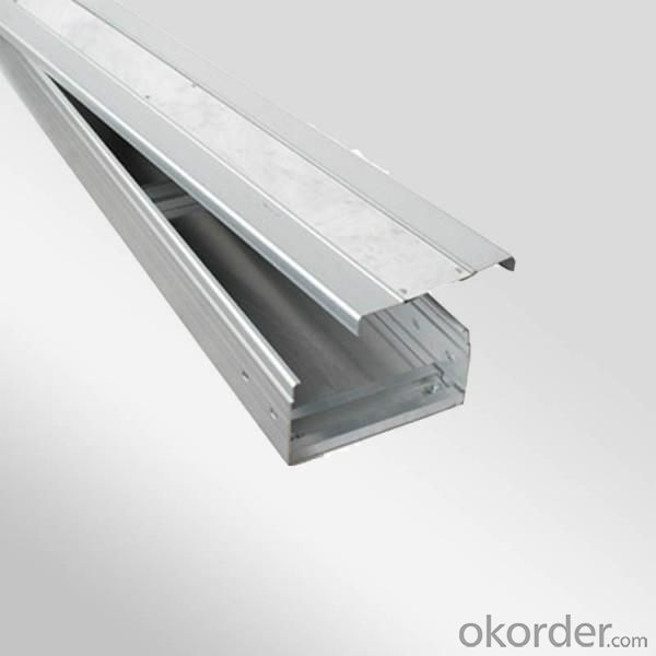 PVC material cable tray