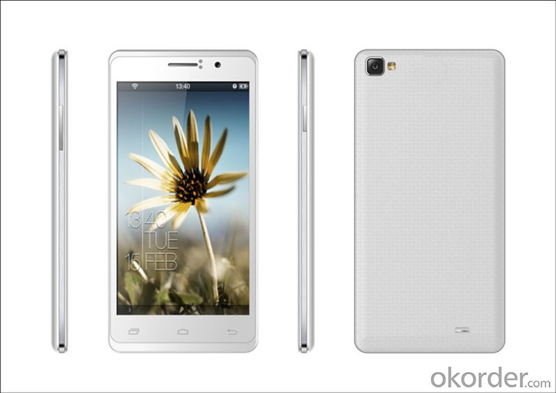New 5.0' Mtk 6582 Quad-Core Android Smart Phone