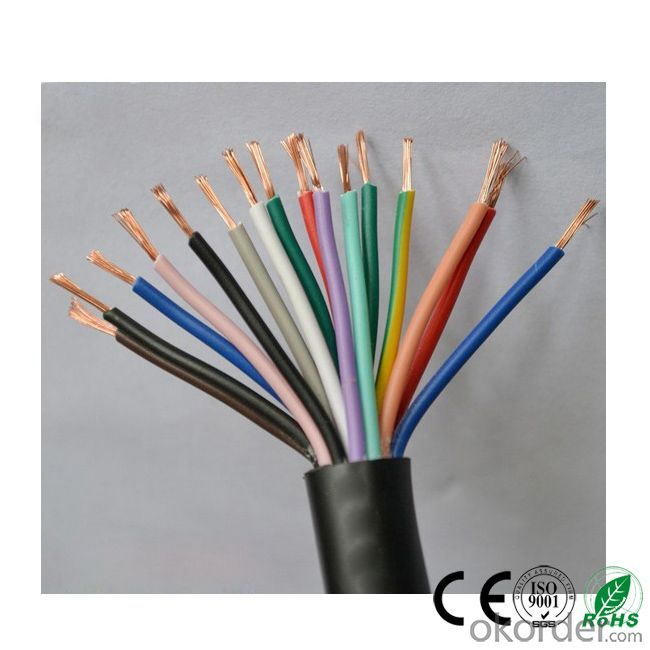 Copper Conductor PVC Control Cable 300/500V,450/750V