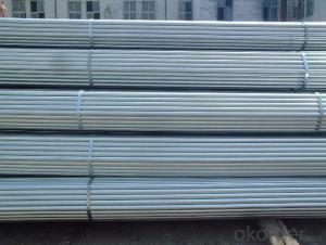 Pre-galvanized iron pipe for oil