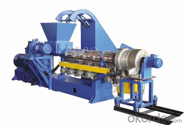 Single Screw Recycling and  Granulating Extruder Line