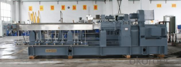 Single Screw PE  PP PVC Plastic Granulation Line