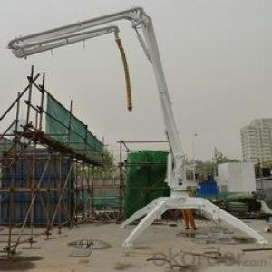Mobile Type HGY15 Concrete Placing Boom