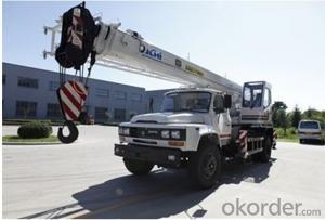 QY8D Truck Crane