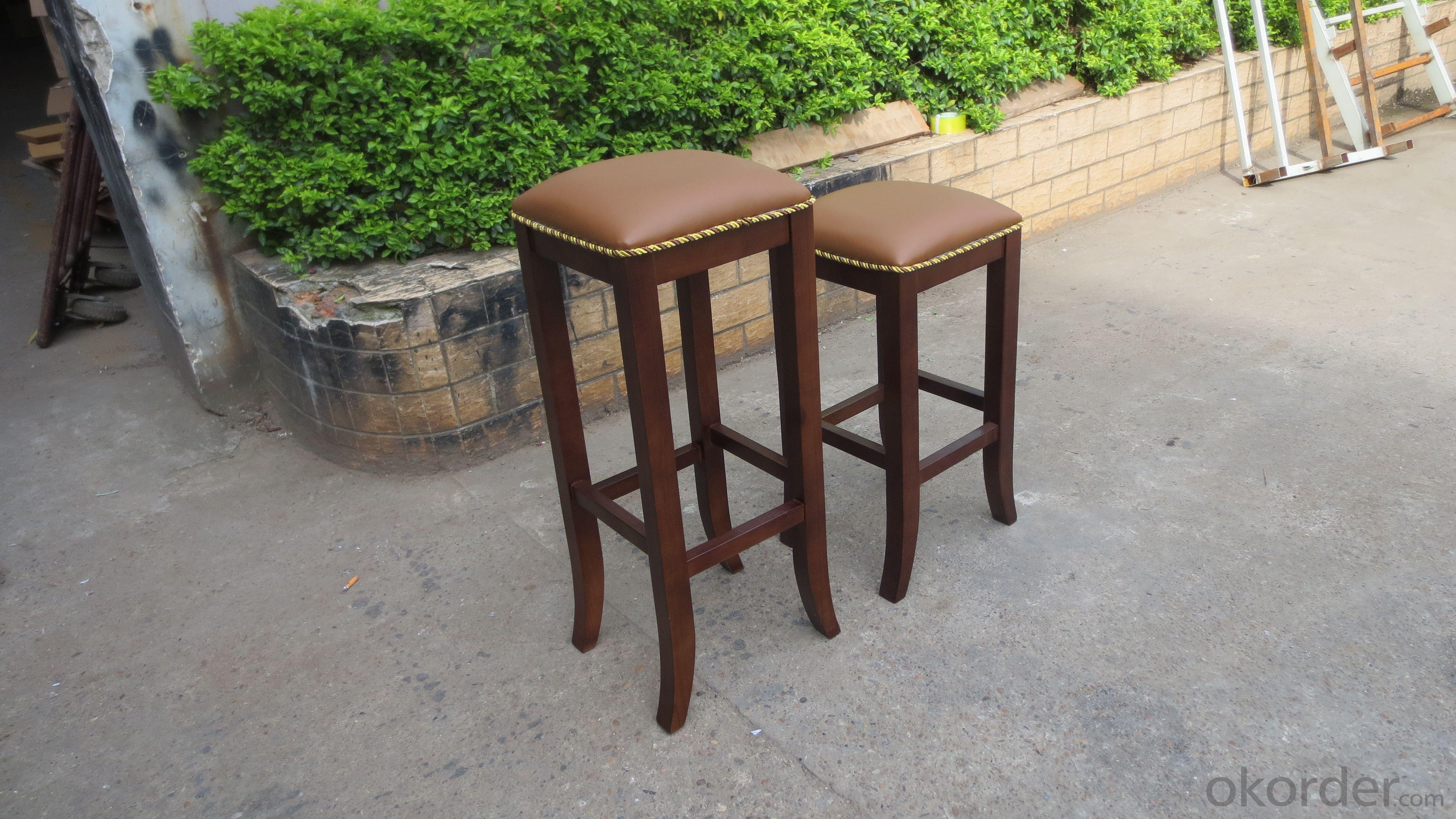 Solid wood bar stool,bar chair