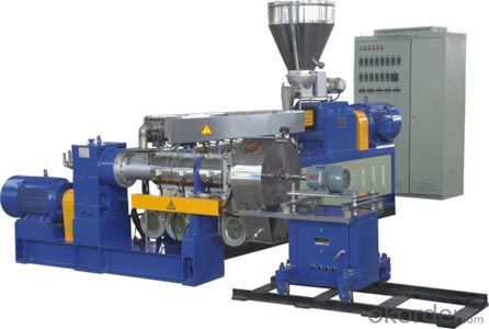 Double Stage Single Screw PP PE film Granulating machine manufacturing line