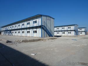 K-type Two-Floor Trio Prefabricated House