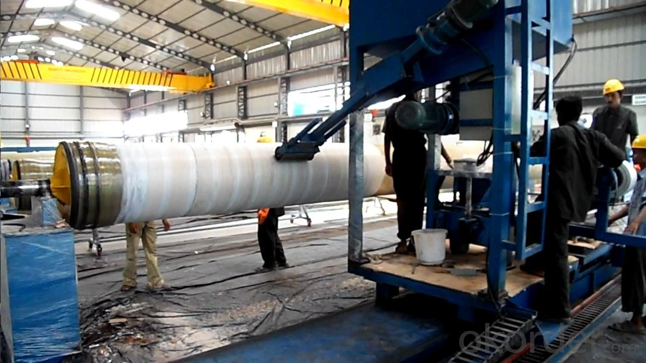 FRP PIPE MANDREL/MOULD DN250 UP TO DN4000MM