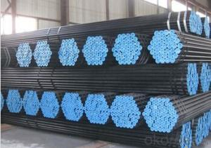 Black Scaffolding Steel Tube