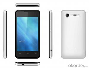 New Design 4-Inch Android 4.2, Dual-Core, 3G Smartphone