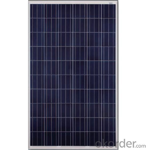Polycrystal solar  panel JAP6 60 245-265W 3BB