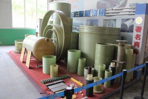 Underground GRP engineering pipe DN500