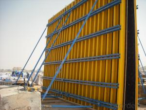 H20 Timber Beam With Cottonwood Plywood For Formwork Girder
