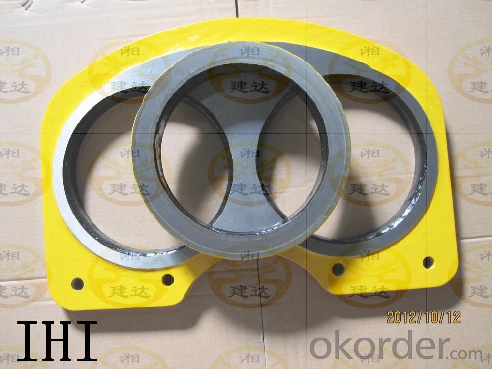 DN220 Spectacle Plate for IHI Concrete Pump