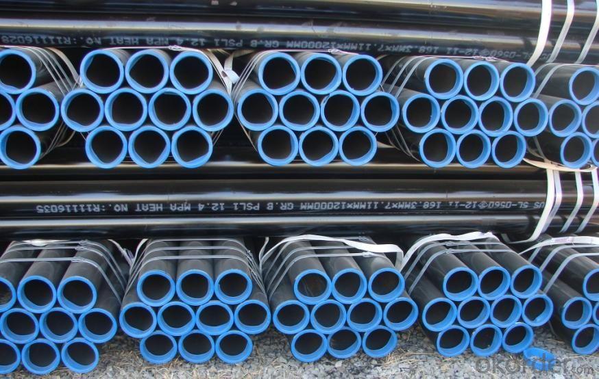 Welded ERW Steel Pipe Q235