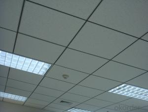 Mineral Fiber Ceiling in Size 595*595*6mm
