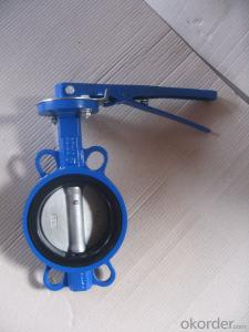 DUCTILE IRON BUTTERFLY VALVE DN600