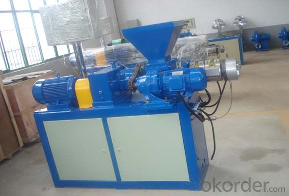 PP/PE film single screw granulator extruder line