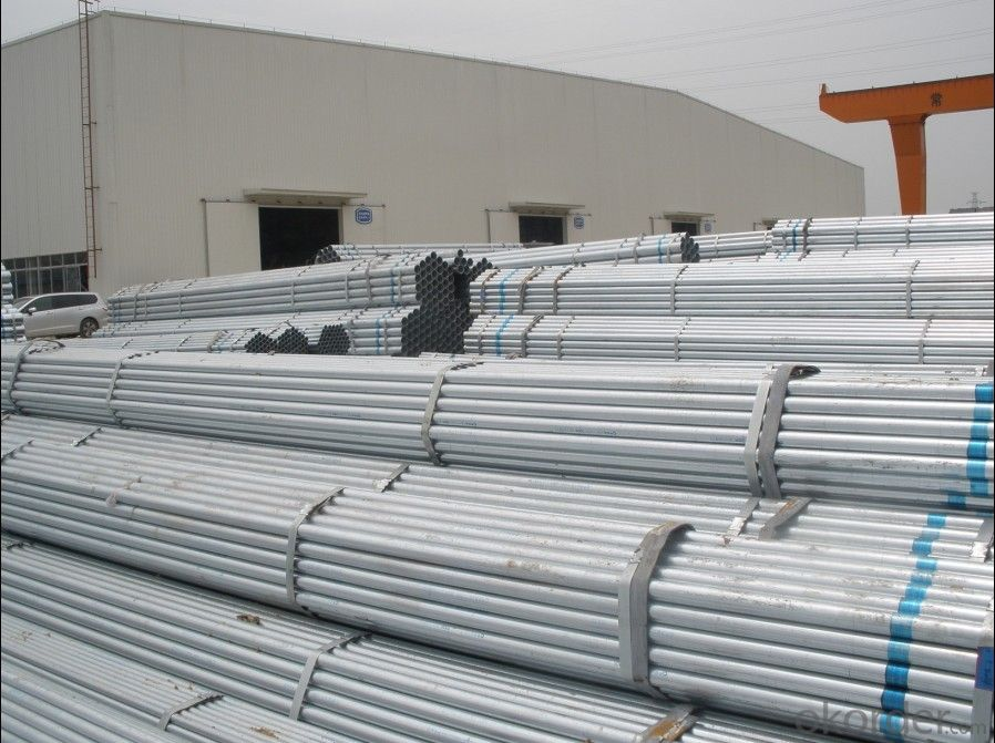 Hot dip galvanized welded pipe for gas