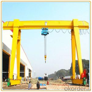 Mh Model Single Beam Workshop Portal Crane
