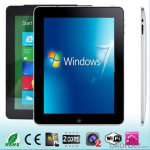 Tablet PC 9.7 Inch Windows8 Intel N2600 Dual Core Tablet PC with 2g/32GB