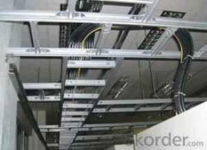 Ladder hot dip galvanized cable tray