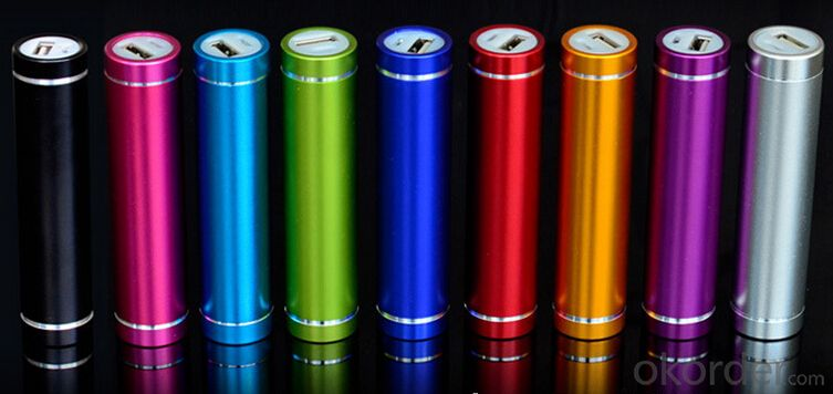 Aluminum cylinder power bank