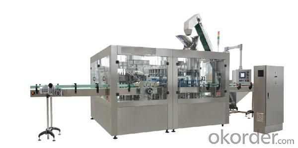 Glass bottle hot filling equipment