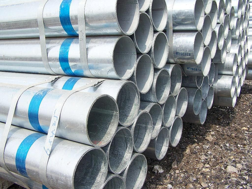 Galvanized iron pipe for oil