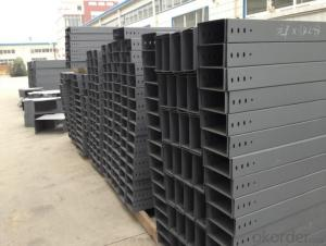 Channel painting galvanized cable tray