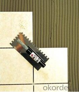 Tile Glue In Construction