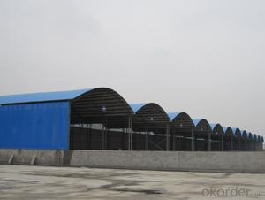 Color Steel Material Shed