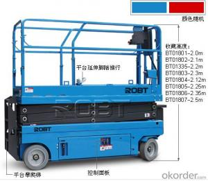 Self-propelled Electric scissor platform