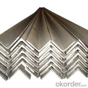 high quality hot rolled Q235 steel angle bar