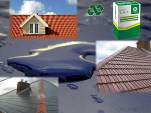 ROOF WATERPROOF---High elastic and macromolecule rubber waterproof glue