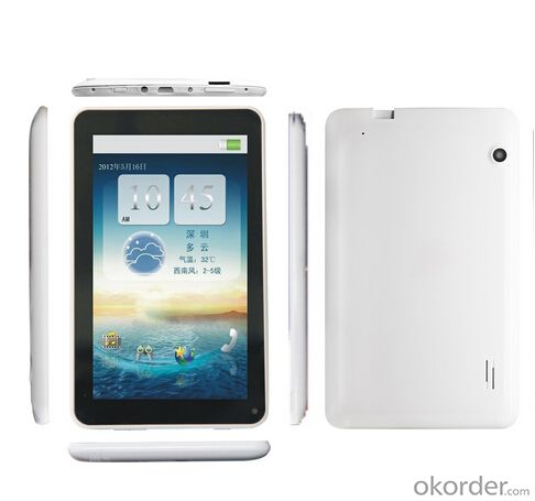 Rockchip 3026 Dual Core 7''  Android 4.2 Resolution 1024*600  Tablet PC