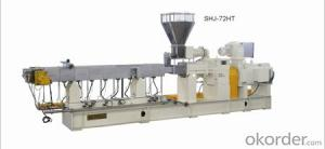 SJ series extrusion line  single screw granulation line  pelletizing line