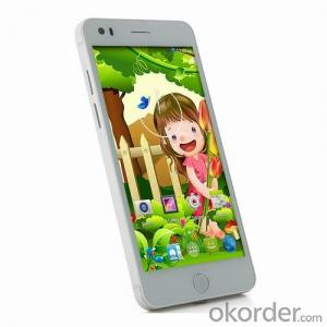 WCDMA 3G Smart Phone 5 inch Dual SIM Android Mobile Phone
