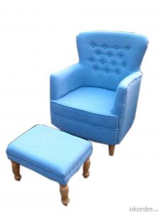 Modern style sofa chair with ottoman,living room chair